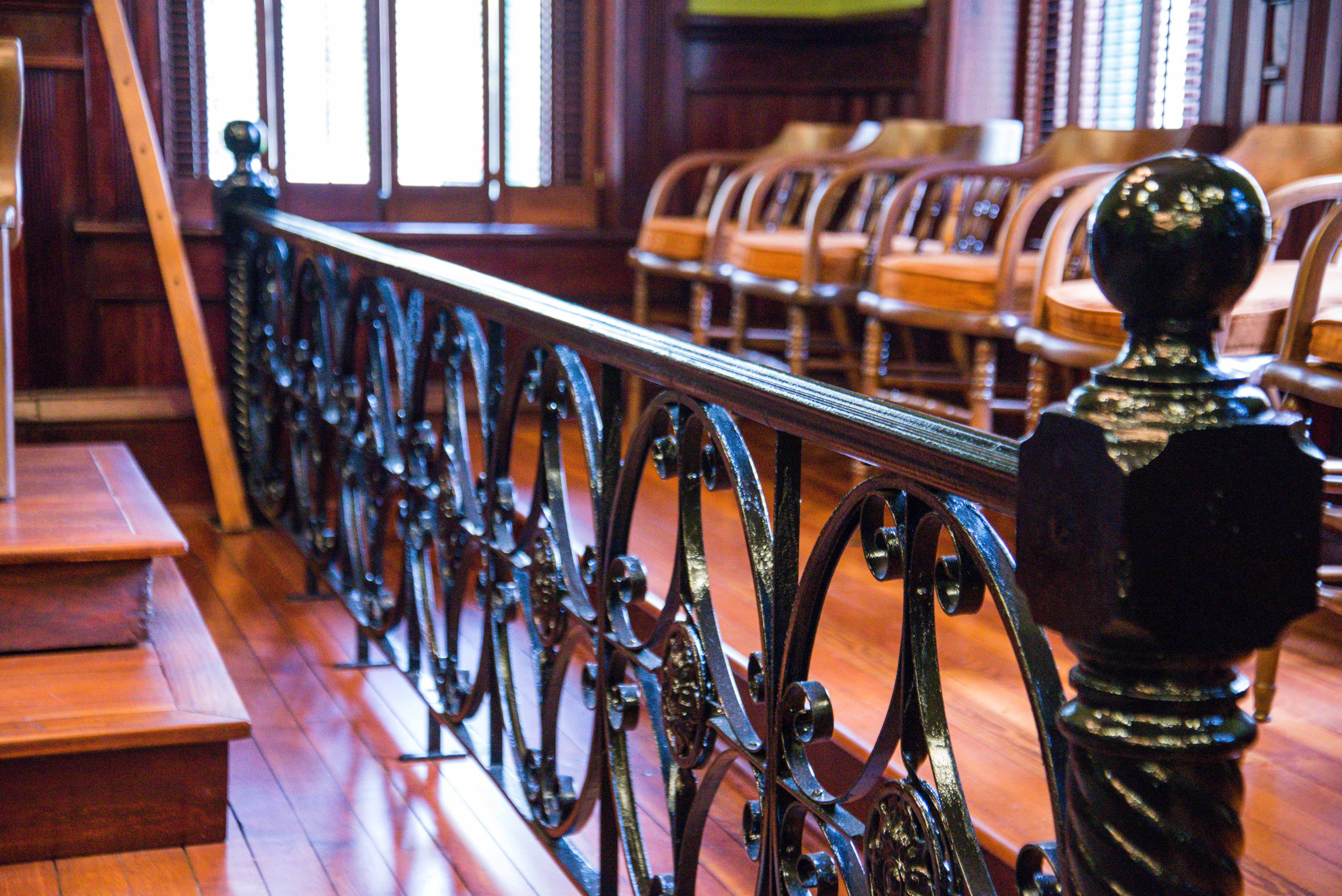 Jury Box, County Court