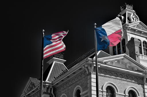 Wharton County Flags